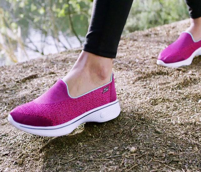 zapatillas skechers mujer para caminar