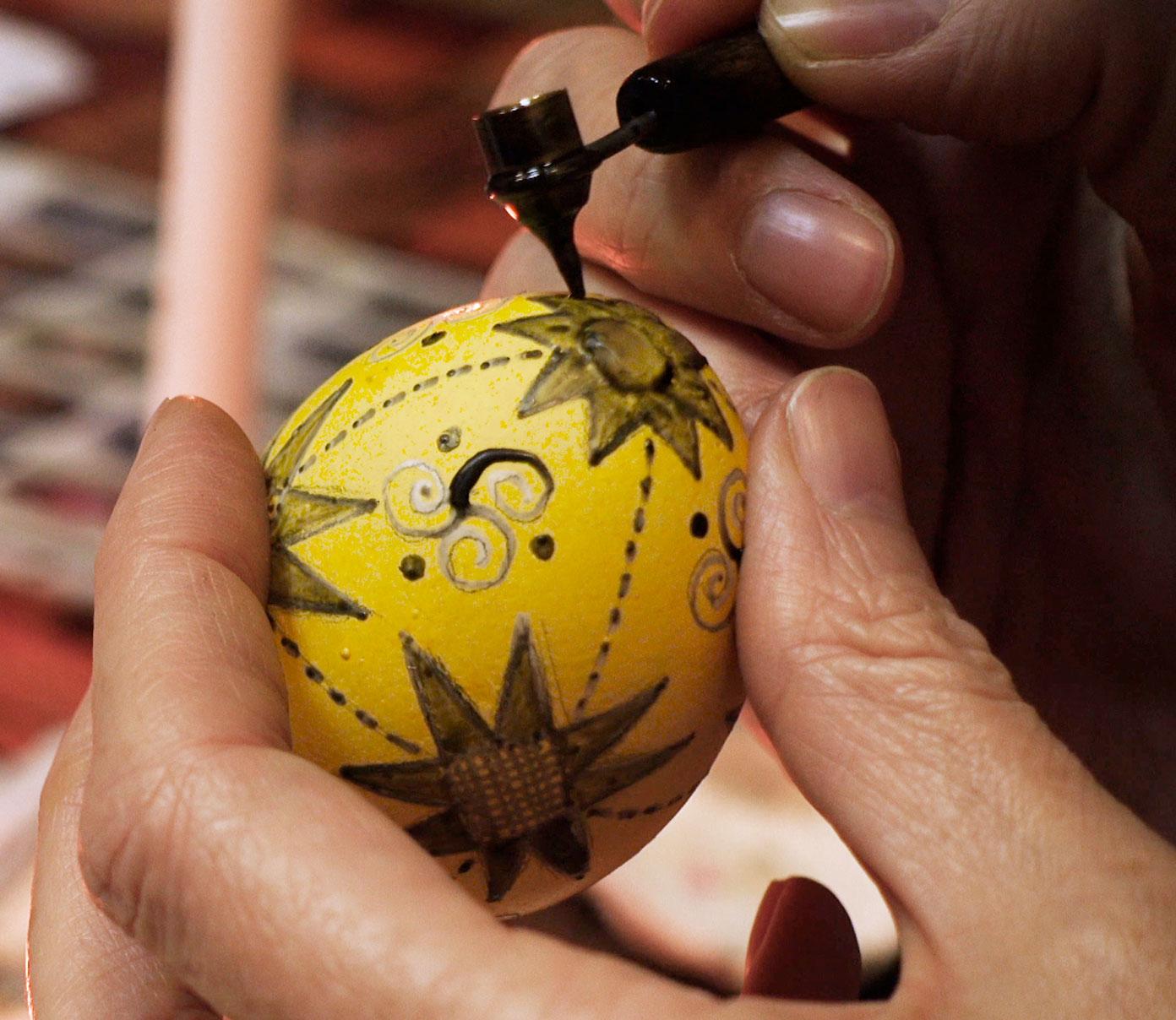 Taller de creació d'ous de Pasqua al Thyssen